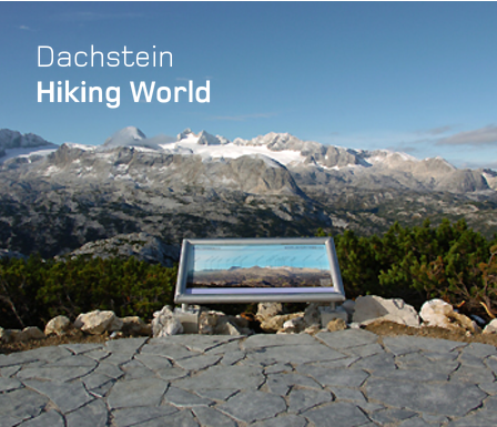 Photo of the Dachstein hiking area