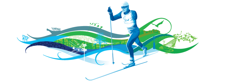 image of paralympic cross-country skier