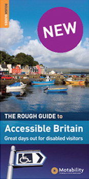 Cover of Rough Guide to Accessible Britain, great days out for disabled visitors