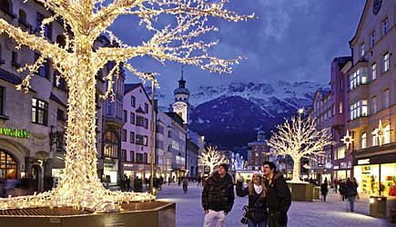 Photo of Innsbruck in winter