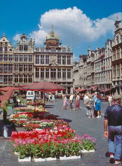 Grand Place, Brussels photo by Cherouvim