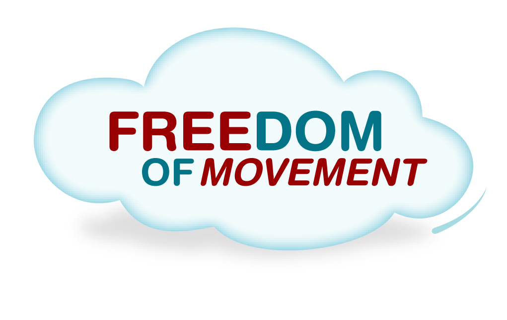 freedom of movement Freedom of movement allows citizens of the european union (eu) to move to,  live in, and in certain circumstances access the welfare system of the eu country .