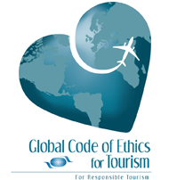 Global Code of Ethics and Tourism logo