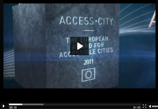 EU Access City Award Video image