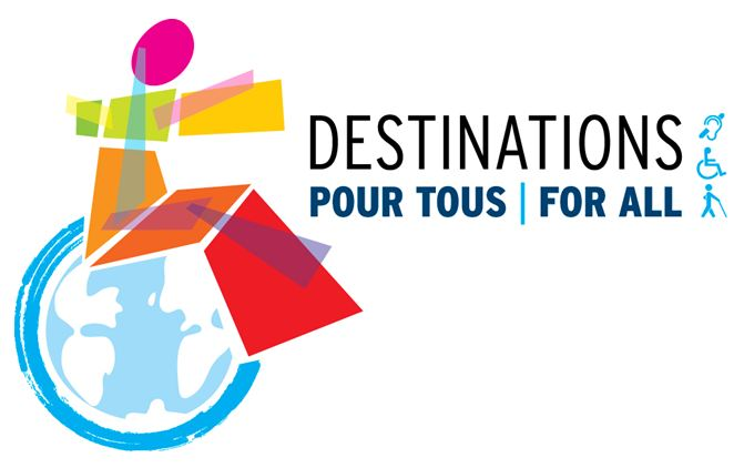 Logo of Destinations for All World Summit