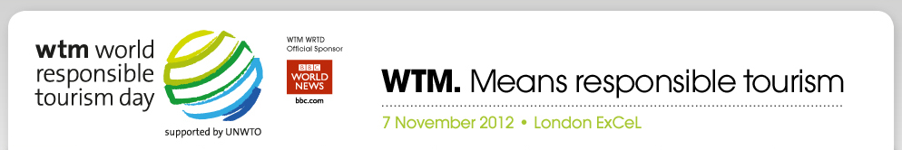 WTM Responsible Tourism Day banner