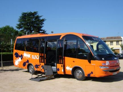 Photo of Minibus. Let's Go Costa Brava