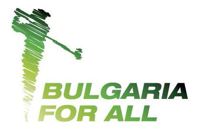 logo of Bulgaria for All golf tournament
