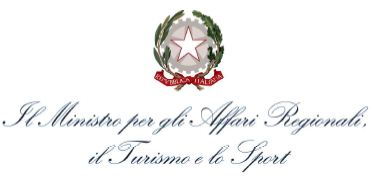 Logo of Italian Ministry of Regional Affairs, Touriusm and Sport