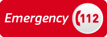 European emergency number 112 logo