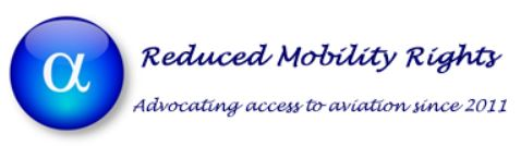 Reduced mobility rights logo