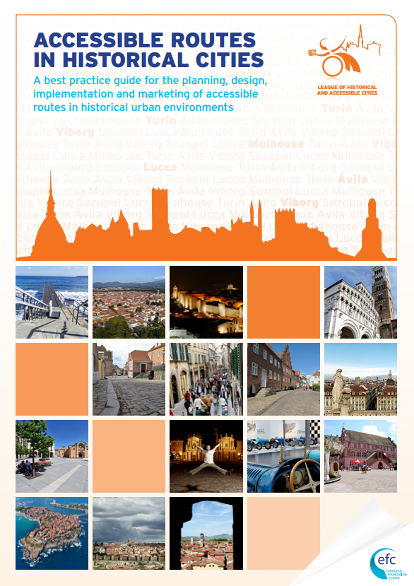 Accessible Historical Routes Best Practice Guide cover image