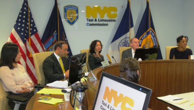 NYC Taxi and Lomousine Commission meeting image