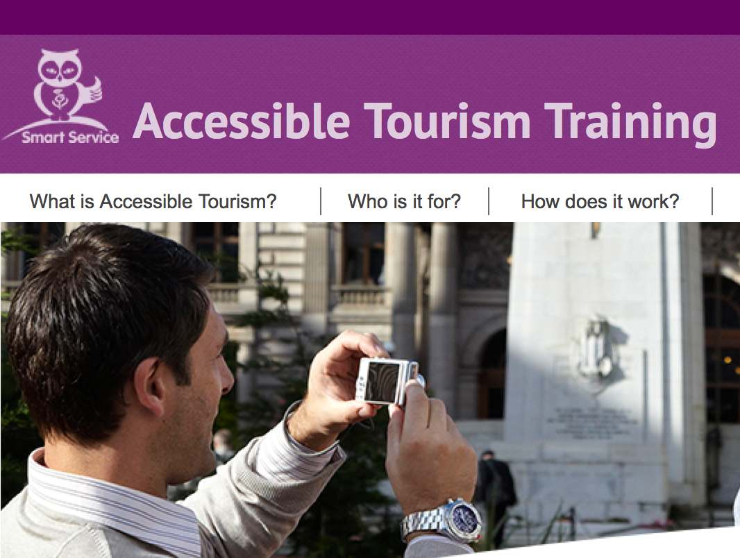 Image Accessible Tourism Training VisitScotland