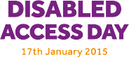 Disabled Access Day, 17 Jan 2015
