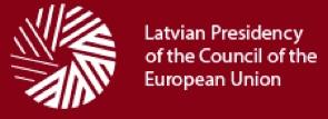 Latvian EU Presidency 2015 logo