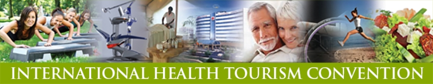 International Health Tourism Convention banner, 11 to 14 March 2015