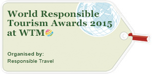 World Responsible Tourism Awards 2015 at WTM logo