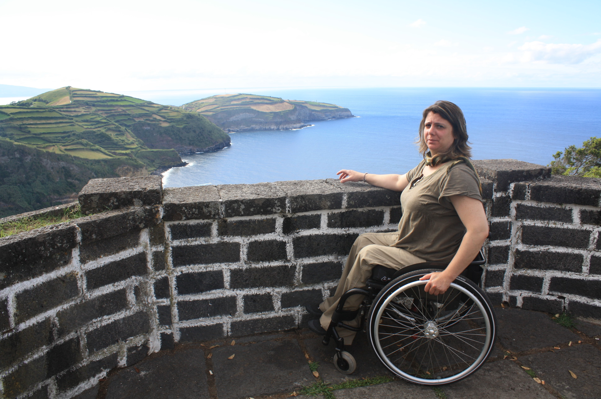 Azores wheelchair user view