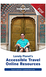 Lonely Planet Access Guide Cover