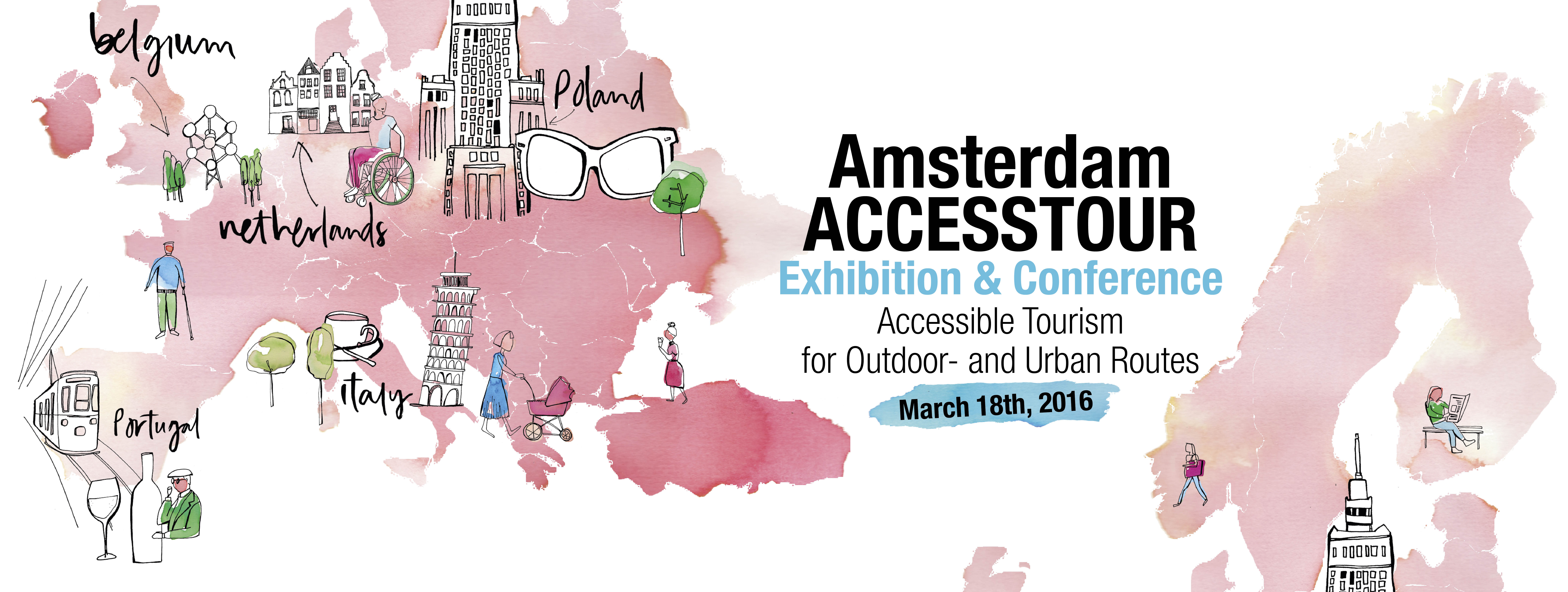 Amsterdam conference banner heading