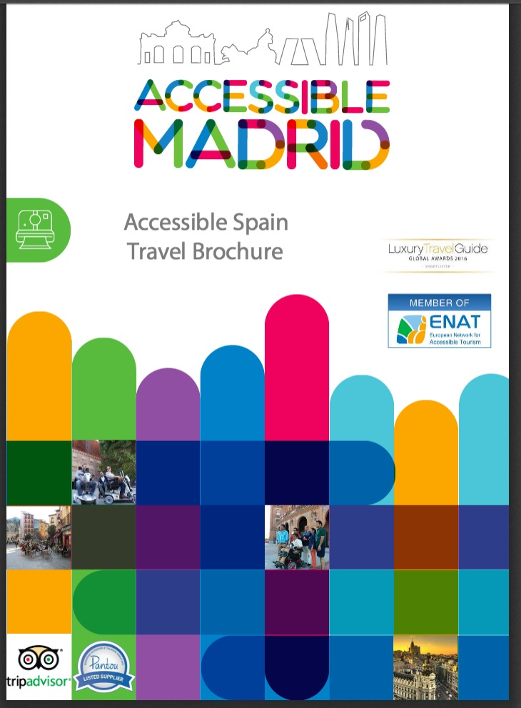 Accessible Travel Spain 2016 Brochure Cover page