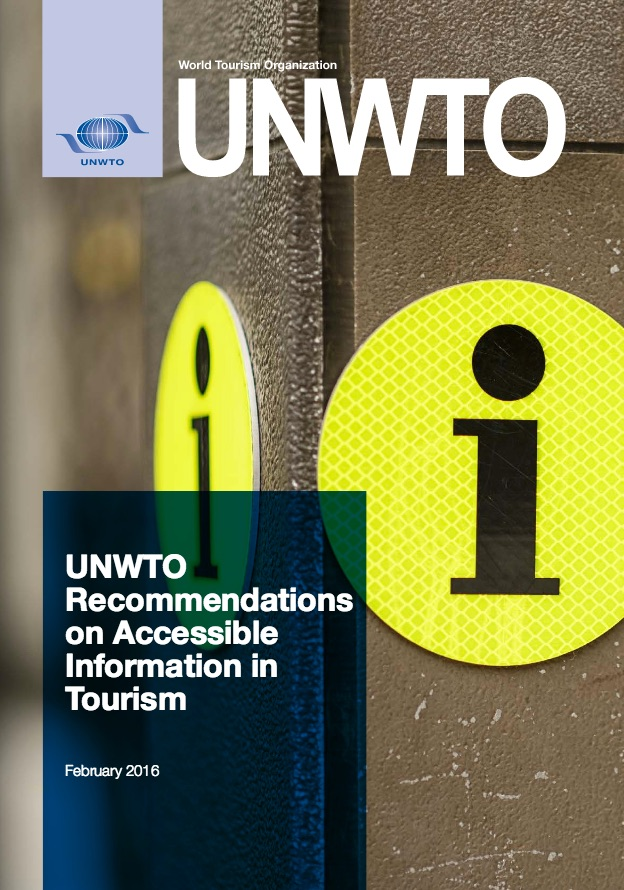 UNWTO Information on Accessible Tourism Report cover image