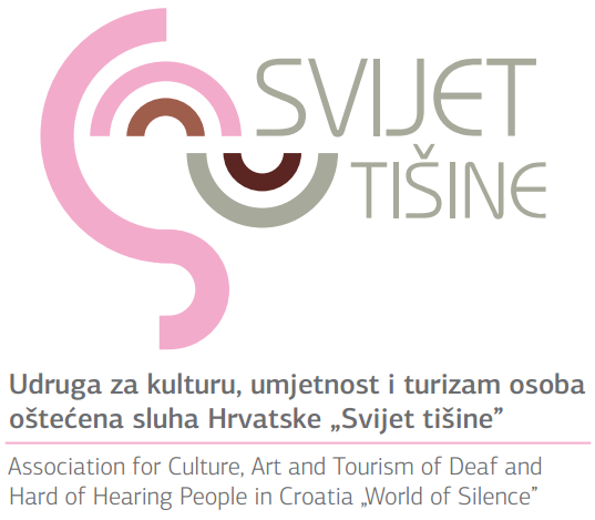 "Svijet Tisine ""World of Silence"" Association logo"
