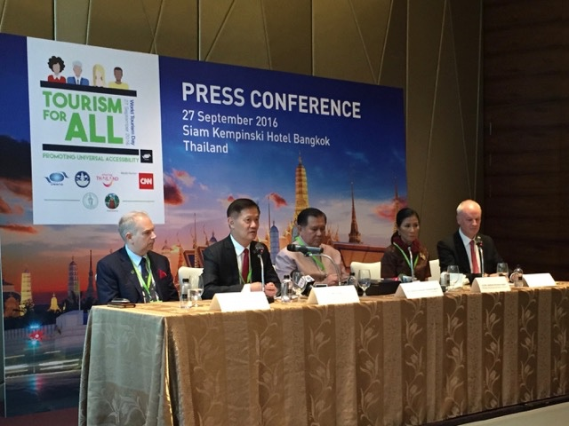 UNWTO Press Meeting on Tourism for All, Bangkok
