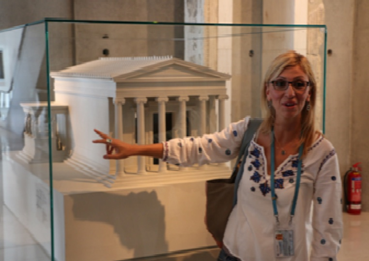 Tourist Guiding at the Acropolis Museum, Athens