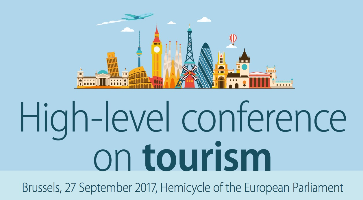 EU Parliament Tourism Conference banner