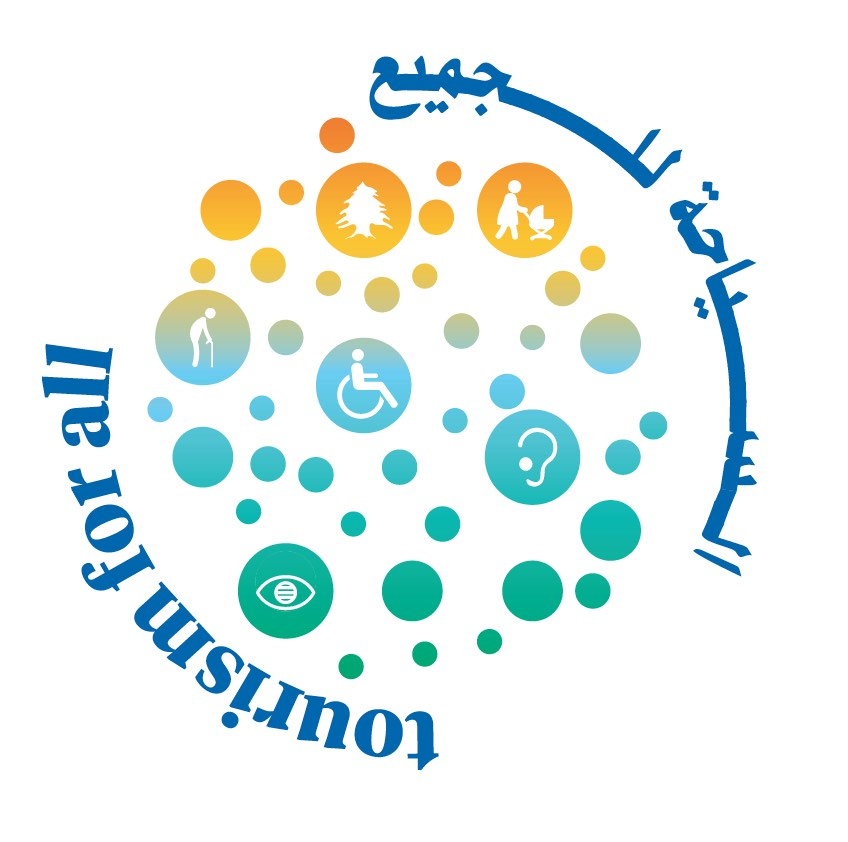 Logo of Tourism for All in Lebanon