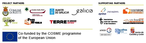 SABER project partner logos and COSME