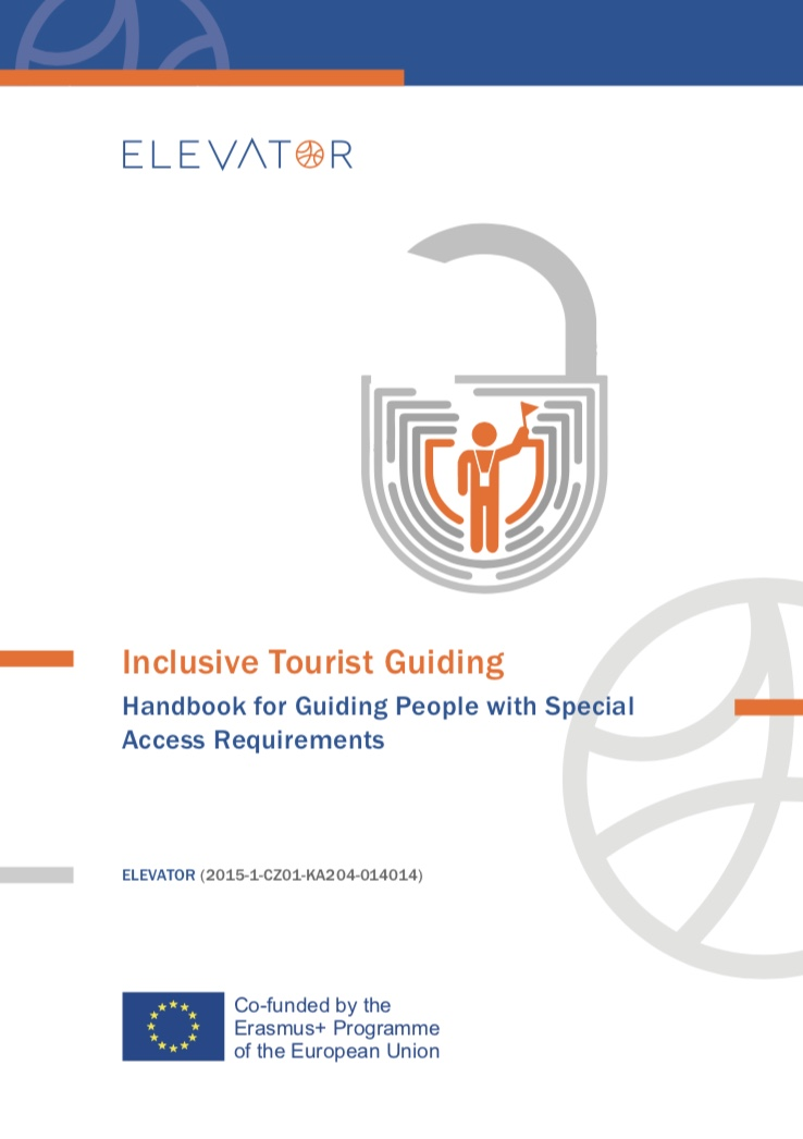 Cover page Inclusive Tourist Guiding