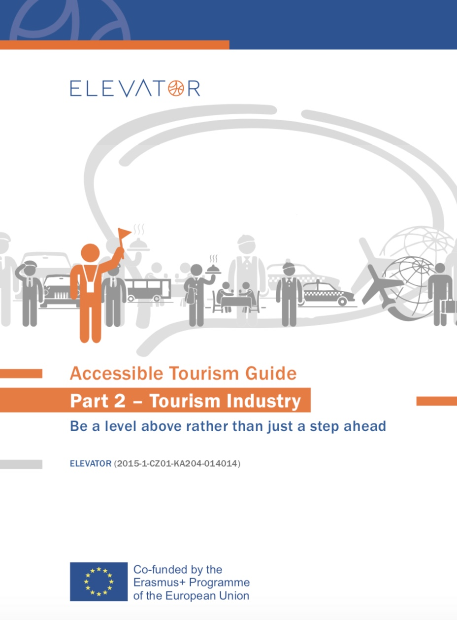 Cover page Accessible Tourism Guide - Industry
