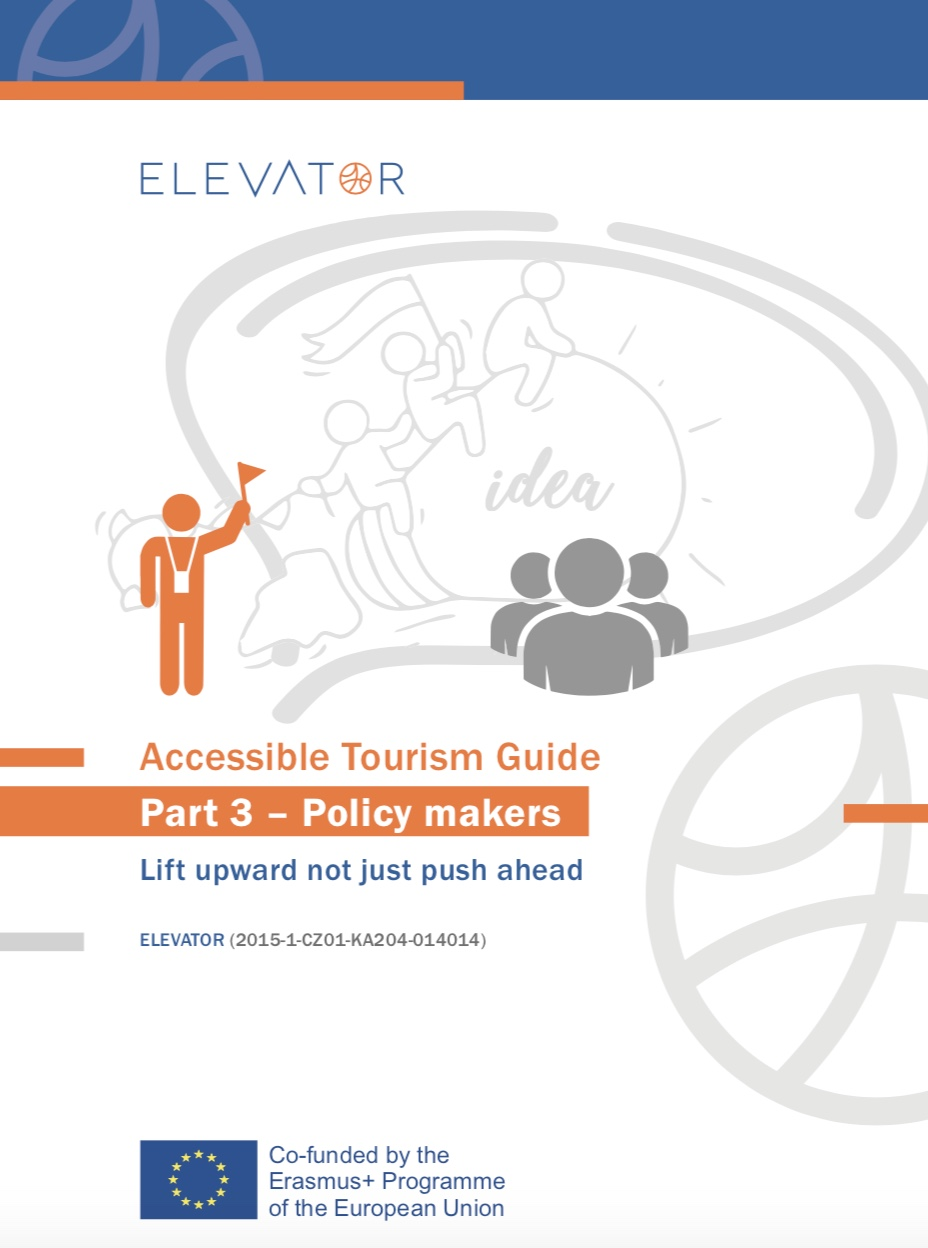 Cover page Accessible Tourism Guide for Policy Makers
