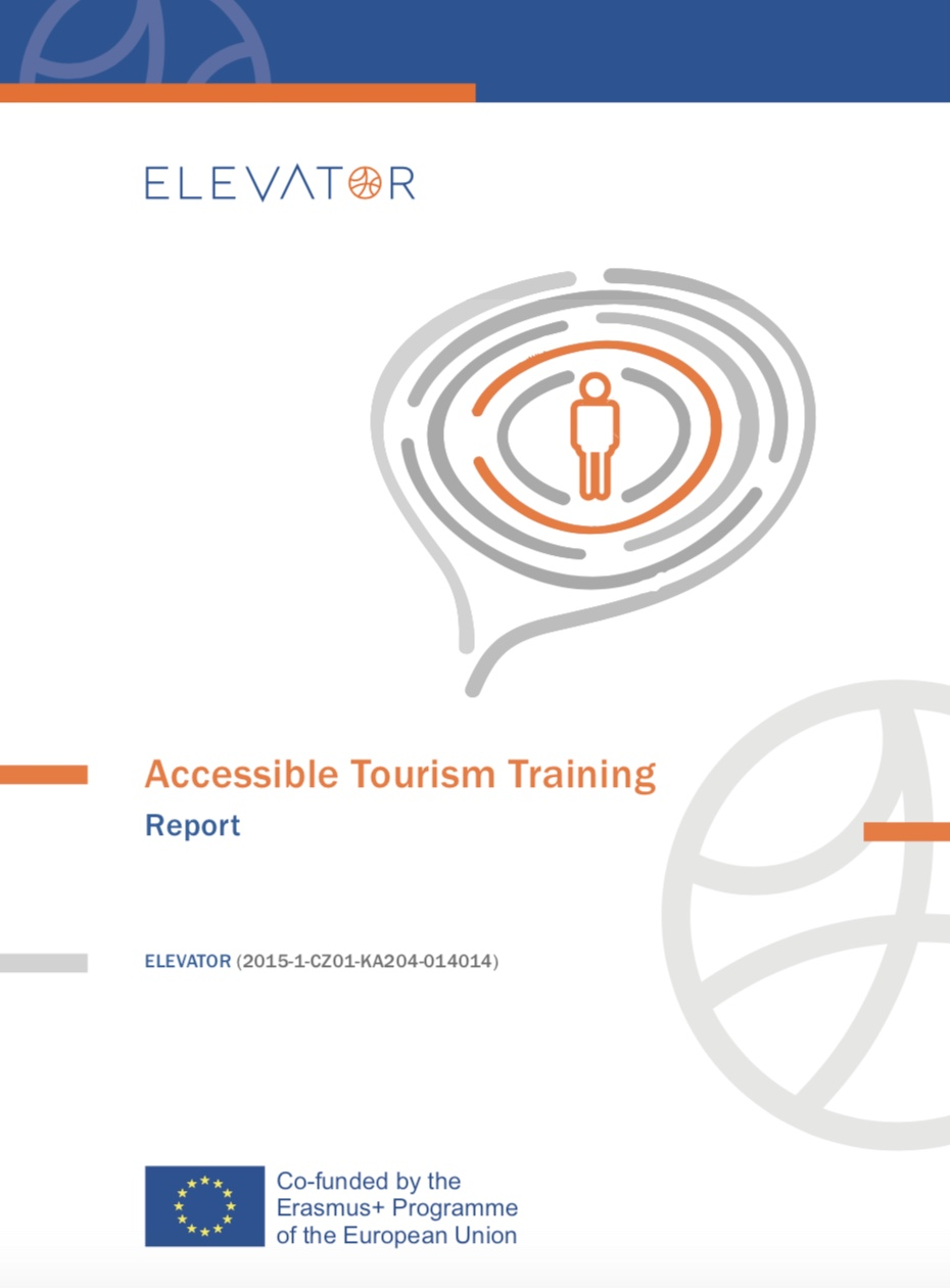Cover image of Accessible Tourism Training Report