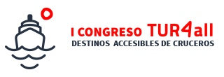 logo of Tur4All Congress, Accessible Cruise Destinations