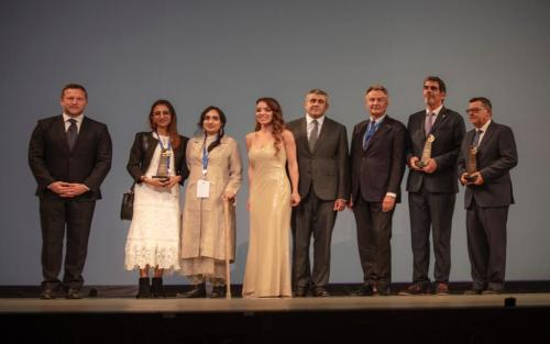 Award winners at UNWTO 23rd General Assembly 2019