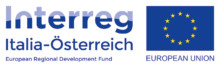 Interreg Italia-Osterreich logo, link opens in a new window