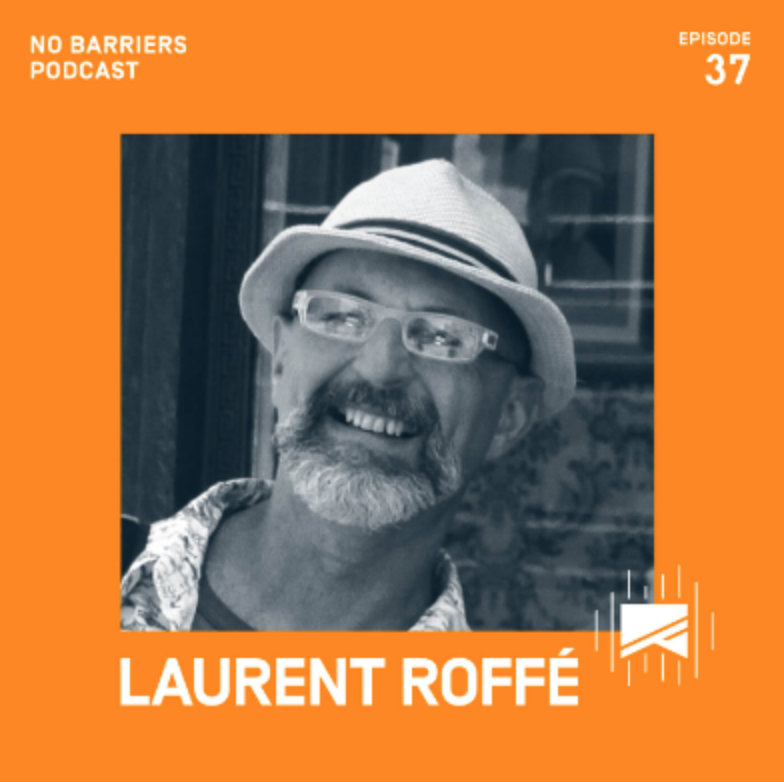 Image of Laurent Roffe by No Barriers Podcast