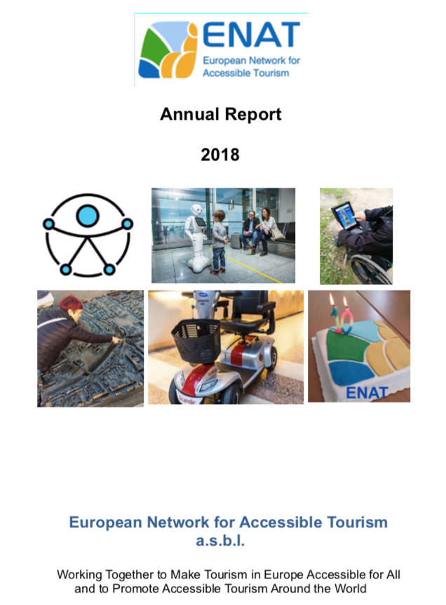 Cover image ENAT Annual Report 2018