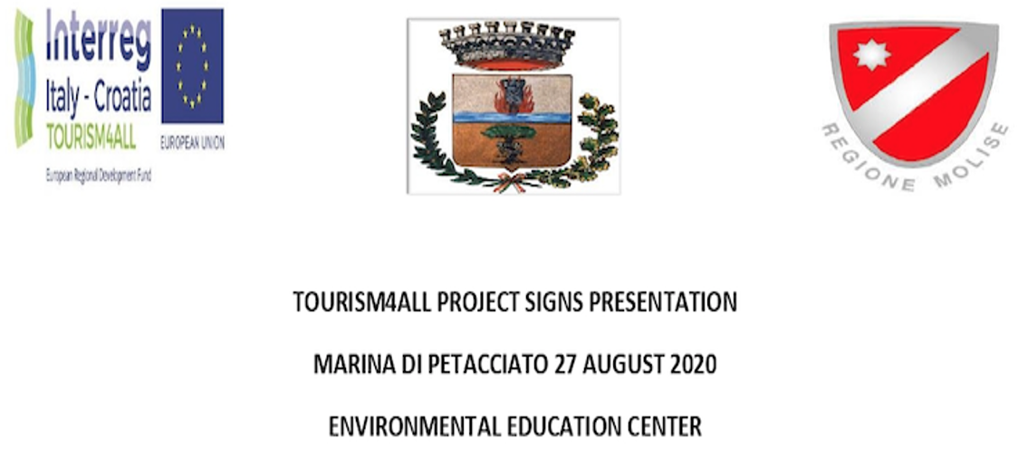 Banner Presentation of tourism signage